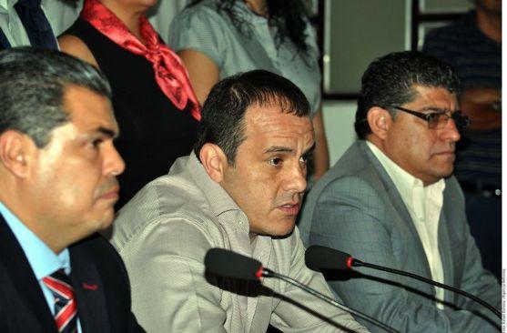 Anuncia Cuauhtémoc Blanco fin de convenio de Mando Único en Cuernavaca