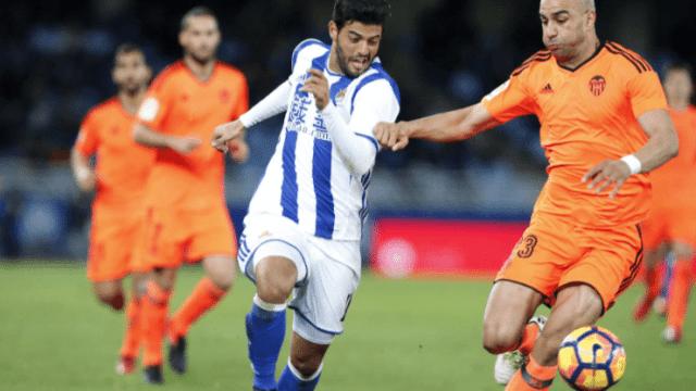 Duelo de mexicanos en la liga de España