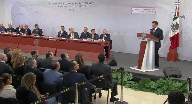 El ejército no es para tareas de seguridad pública, reconoce Peña Nieto