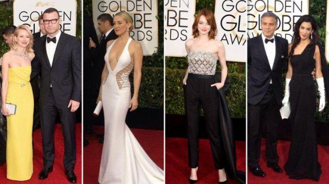 Golden Globes 2017: en vivo desde la alfombra roja