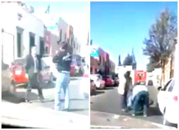 En Durango un automovilista arregla pleito de tránsito a balazos #LordPistolas