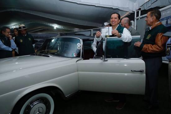 Inaugura la UAEM la segunda edición del Salón del Automóvil