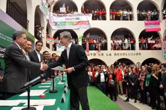 Alfredo del Mazo hará frente a la corrupción