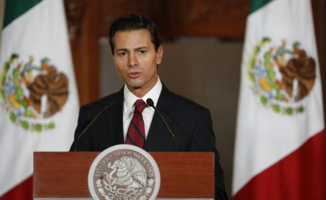 """México no pagará el muro"""": Peña Nieto"""