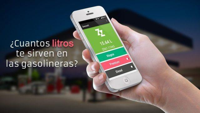 Zenzzer la app para checar litros completos de gasolina