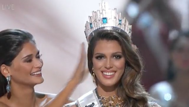 Miss Francia es la nueva Miss Universo