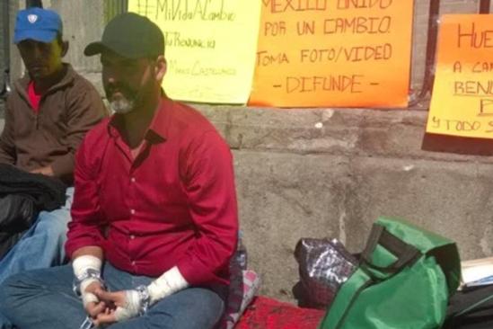 Empresario mexiquense ofrece su vida a cambio de la renuncia de Peña Nieto