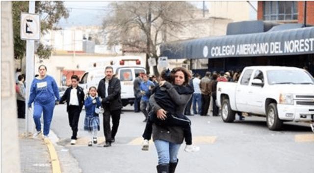 Ataque al colegio de Monterrey aparentemente fue anunciado en un foro