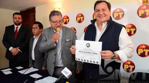 Oscar González Yáñez es precandidato PT al Gobierno del Estado de México