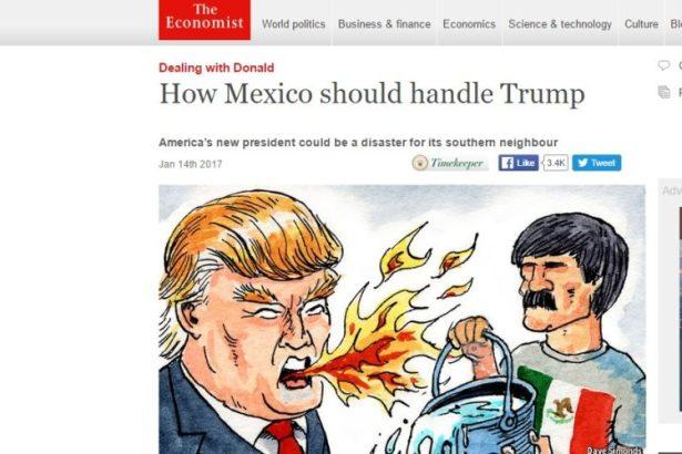 """Trump """"mataría"""" reformas de EPN, México caería en recesión y AMLO llegaría al poder: The Economist"""