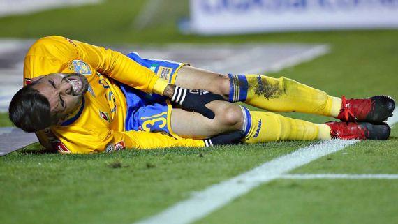 Luis Martínez termina en el hospital por lesión