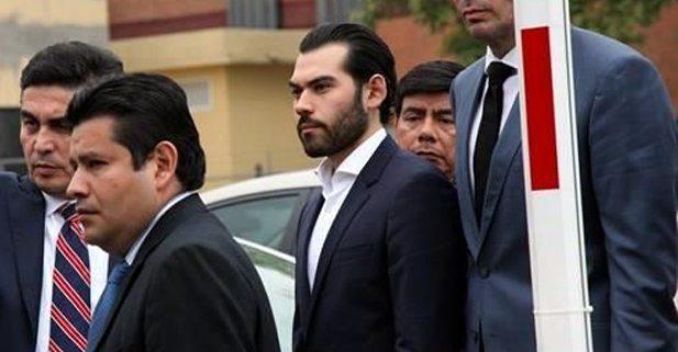 Trasladan  a hijo de Padrés a penal en Morelos