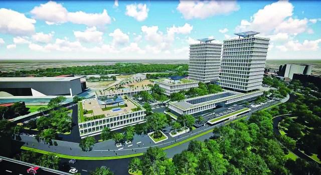 Suspende construcción de torres gemelas de su nueva sede del INE
