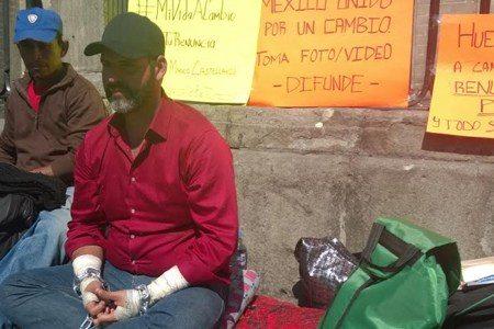 Ofrece su vida a cambio de la renuncia de Peña Nieto