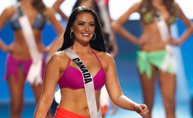 """Siera Bearchell, la Miss Canadá que se """"robó"""" Miss Universo"""