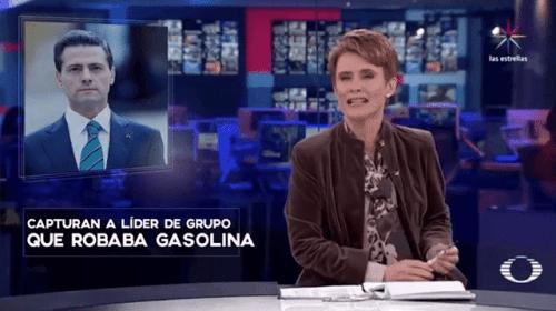 Por error Televisa pone a Peña Nieto como ratero en noticiero