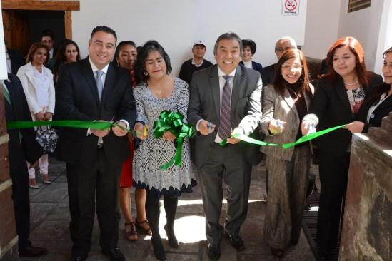 Inauguran la nueva sede de la VisitaduríaGeneral de la Comisión de los Derechos Humanos en Tenango del Valle