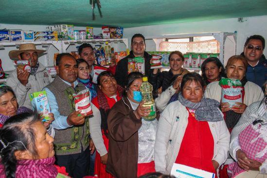 Diconsa abre 9 tiendas fijas para el abasto rural en Atlacomulco
