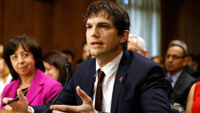 Ashton Kutcher pide al Congreso de EEUU que combata la explotación sexual infantil