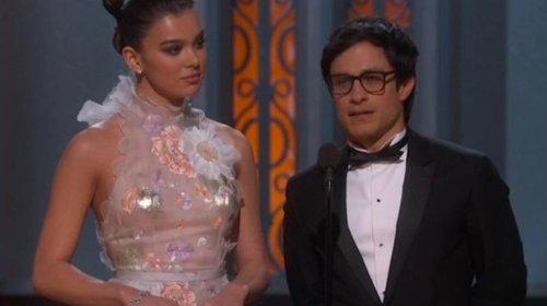 Gael García manda mensaje en la entrega de los Oscares