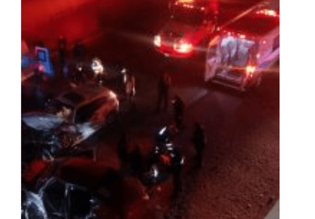 2 choques en Huehuetoca dejan como saldo 7 heridos