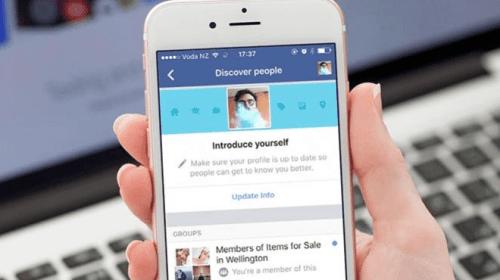 Facebook busca hacerle competencia a Tinder con nueva función