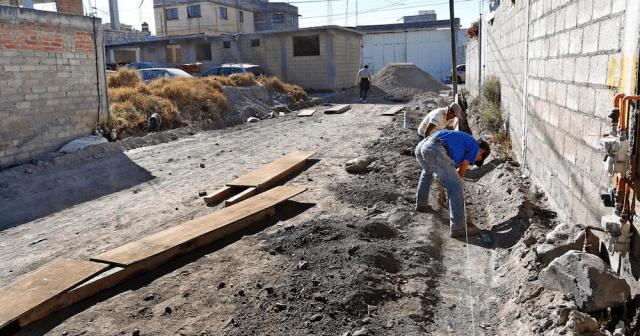 """Vecinos y gobierno municipal realizan 36 obras en Toluca a través de """"Faenas Comunitarias"""""""