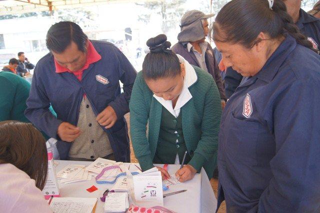 IMSS poniente realiza jornada PrevenIMSS en empresa del municipio de Jocotitlán
