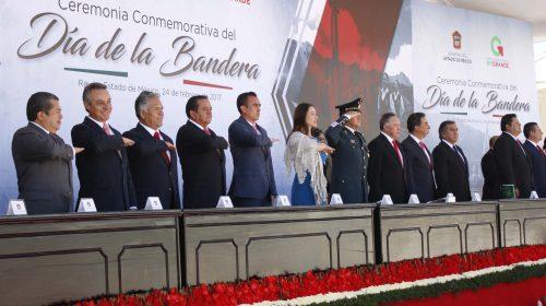 Día de la Bandera en la 22ª Zona Militar