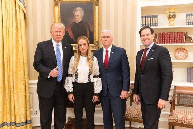 """Trump pide a Venezuela la liberación """"inmediata"""" de Leopoldo López"""