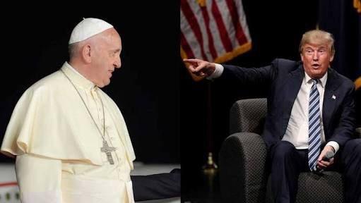 Construir puentes y no muros, pide el Papa a Trump