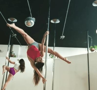 Exvocalista de Playa Limbo sorprende el en Pole Dance