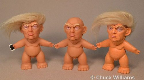 Donald 'Troll' el nuevo jueguete que nadie va querer