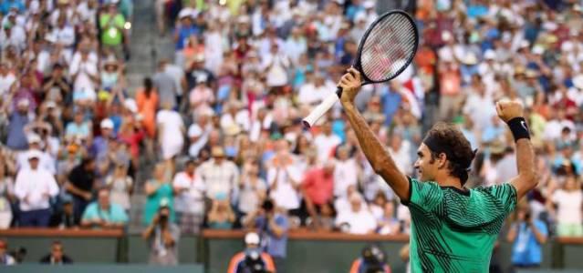 Federer abruma a Nadal