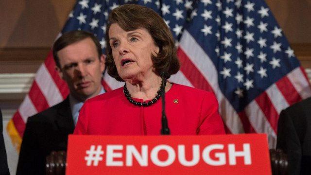 """Donald Trump pronto renunciará a su cargo"" dice Senadora Feinstein"