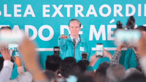 Alfredo del Mazo asume la candidatura de Nueva Alianza al gobierno del Estado de México