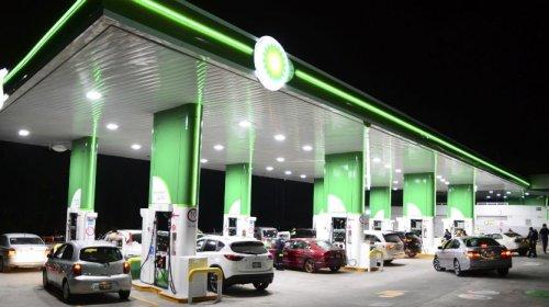 British Petroleum abre su primera gasolinera en México y la gente se vuelve loca