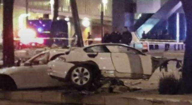 Difunden vídeo del accidente en Reforma