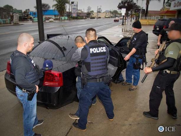 Trump publica lista de inmigrantes criminales