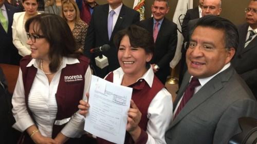 """""""Tengo experiencia, pero NO en robar"""" afirma Delfina Gómez"""