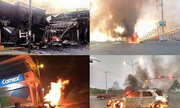 Alerta roja y toque de queda en Reynosa por fuertes balaceras