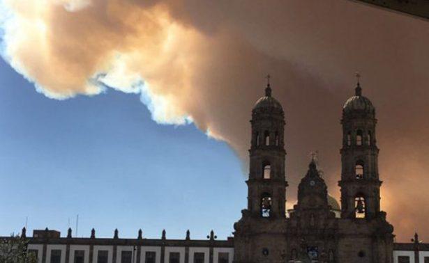 Incendios en Zapopan detonan emergencia atmosferica