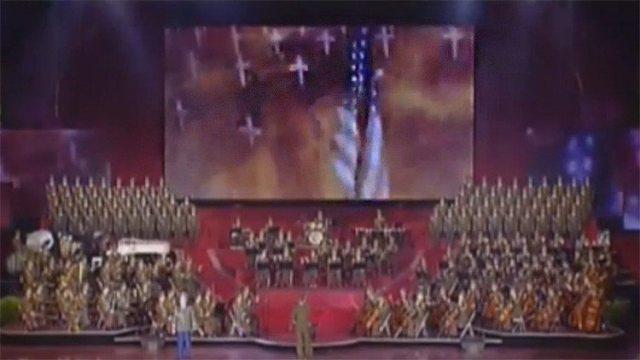 Corea del Norte recrea un ataque con un misil sobre Estados Unidos