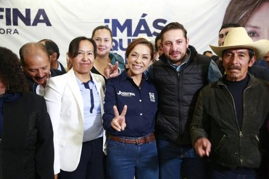 """Con su voto, los mexiquenses convertirán en acción tres palabras: """"Fuera el PRI"""", asegura JVM"""