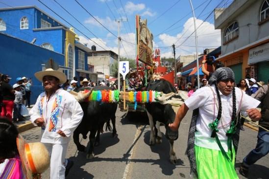 Paseo de la Agricultura en Metepec, una tradición de arraigo