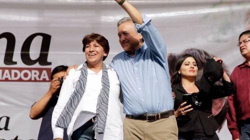 Gente comprometida con la sociedad es bienvenida a Morena: Delfina Gómez