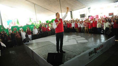 Regresemos la seguridad a las familias mexiquenses: Del Mazo