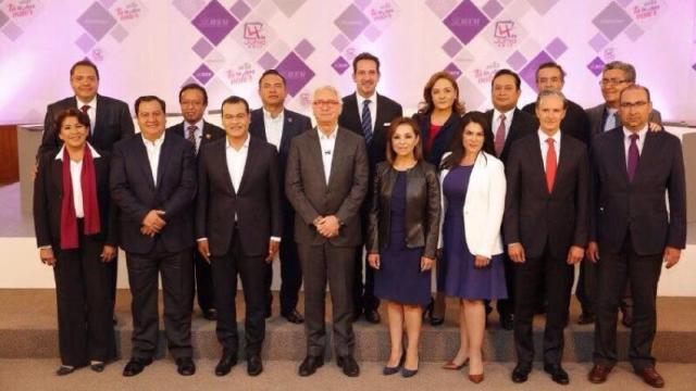 Inicia el primer debate en el Estado de México
