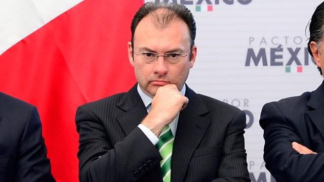 Videgaray dice no busca ser candidato para el 2018