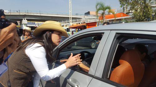Convoca Teresa Castell a no permitir que partidos políticos hagan del Edomex su botín